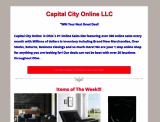 capitalcityonlineauctions.com screenshot