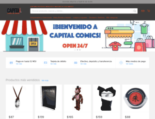 capitalcomics.net screenshot