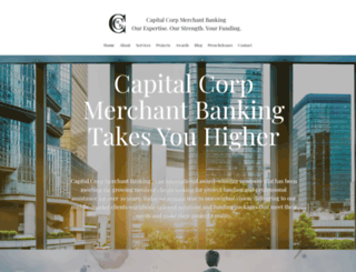 capitalcorpmerchantbanking.com screenshot