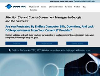 capitaldatainc.com screenshot