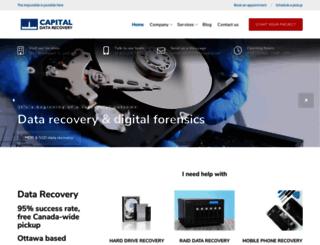 capitaldatarecovery.com screenshot