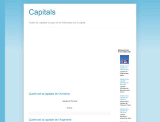 capitales-du-pays.blogspot.com screenshot