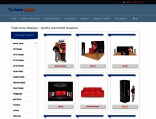 capitalexhibits.com screenshot