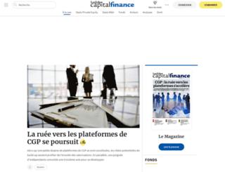 capitalfinance.lesechos.fr screenshot