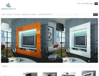 capitalfurniture.eu screenshot