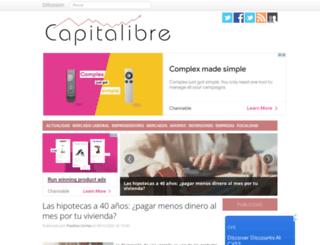 capitalibre.com screenshot