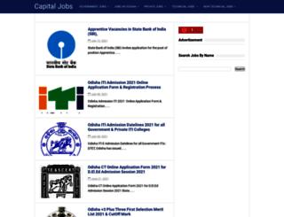 capitaljobs.in screenshot