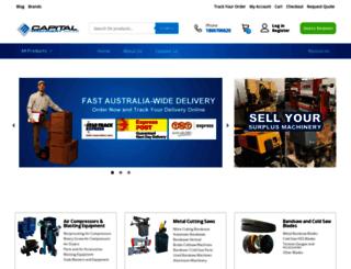 capitalmachinery.com.au screenshot