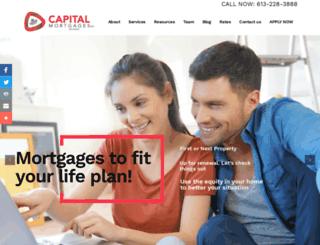 capitalmortgages.com screenshot