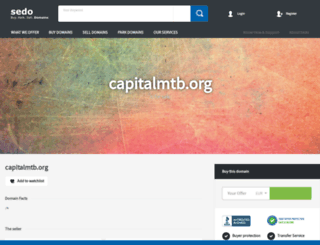 capitalmtb.org screenshot