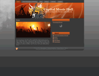 capitalmusichall.ca screenshot
