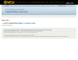 capitalnews.vcu.edu screenshot