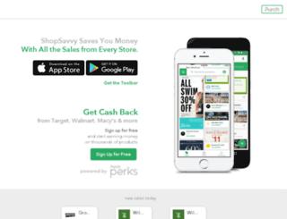 capitalone.shopsavvy.com screenshot