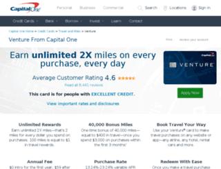 capitaloneventure.com screenshot