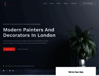 capitalpainter.co.uk screenshot
