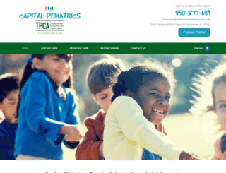 capitalpediatricsfl.com screenshot