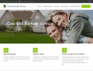 capitalrehabgroup.com screenshot