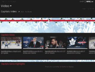 capitals.nhl.tv screenshot
