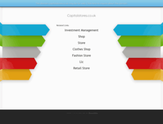 capitalstores.co.uk screenshot