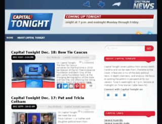 capitaltonight.news14.com screenshot