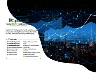 capitaltrust.lk screenshot