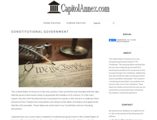 capitolannex.com screenshot