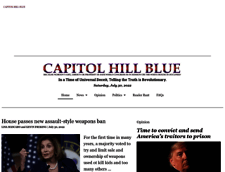 capitolhillblue.com screenshot