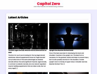 capitolzero.com screenshot