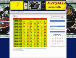 capjikiaxxx.wordpress.com screenshot