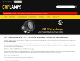 caplamps.co.uk screenshot
