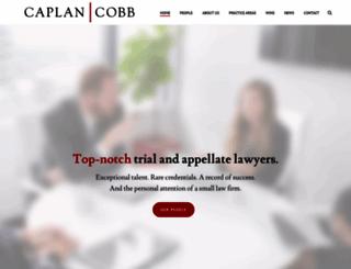 caplancobb.com screenshot