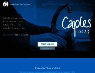 caples.org screenshot