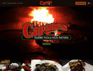 caponestr.menufy.com screenshot