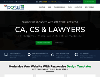 caportal.saginfotech.com screenshot