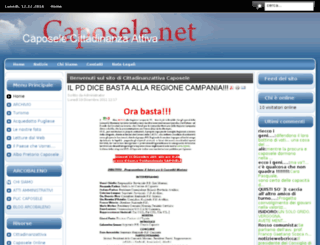 caposele.net screenshot