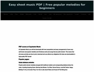 capotastomusic.com screenshot
