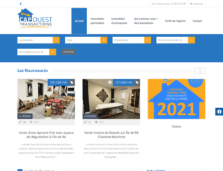 capouest-transactions.com screenshot