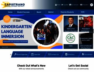 capousd.org screenshot