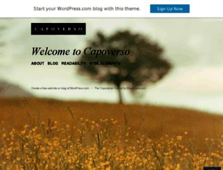 capoversodemo.wordpress.com screenshot