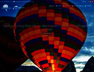 cappadociaballoonbookings.com screenshot