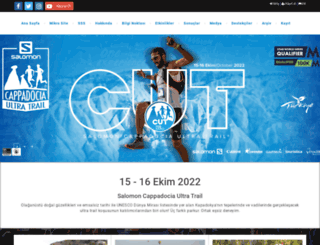 cappadociaultratrail.com screenshot