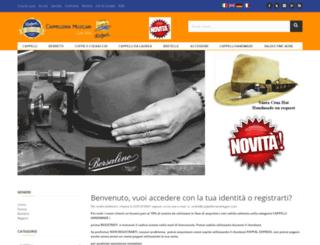 cappelleriamelegari.com screenshot