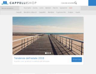 cappellishop.com screenshot