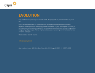 capricapital.com screenshot