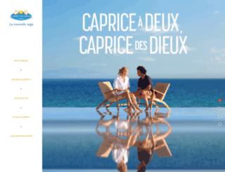 capricedesdieux.com screenshot