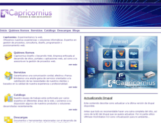 capricornius.com screenshot