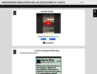 capriles-presidente07.blogspot.com screenshot
