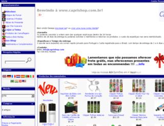 caprishop.com.br screenshot