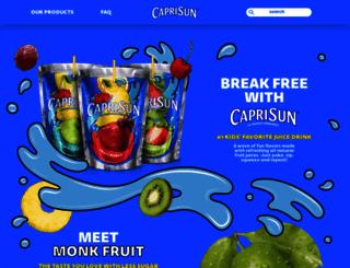 caprisun.com screenshot