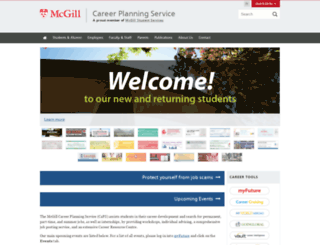 caps.mcgill.ca screenshot